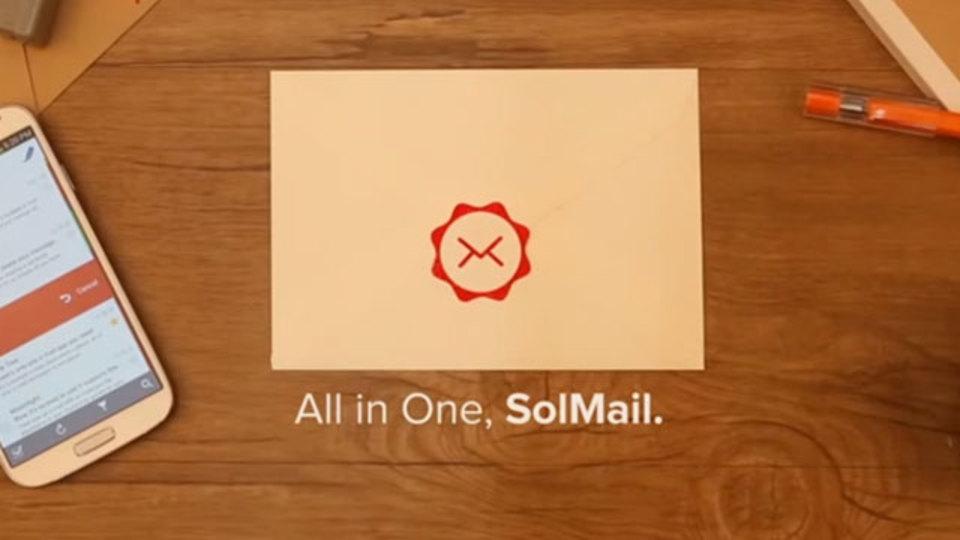 Gmail、Yahoo、Outlookなど複数メールアカウントをこれ1つで管理できる『SolMail』