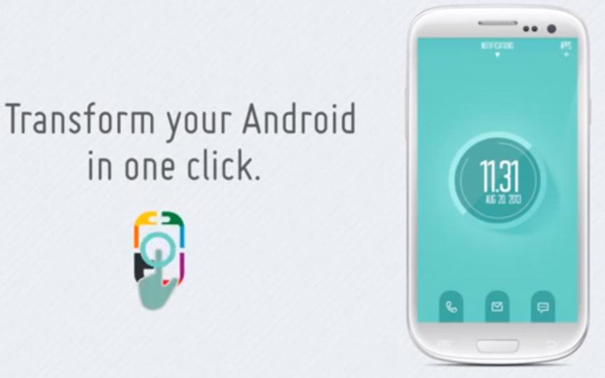 Androidの見た目を1タップでまるごとアレンジできる『Themer』