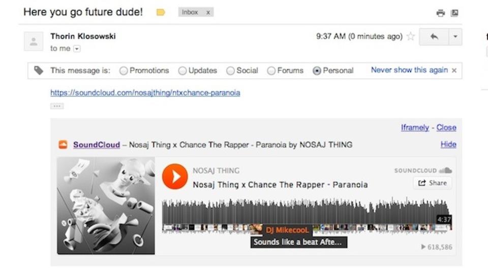 Gmailに送られてきたリンクをそのままプレビューできるChrome拡張「Iframely」