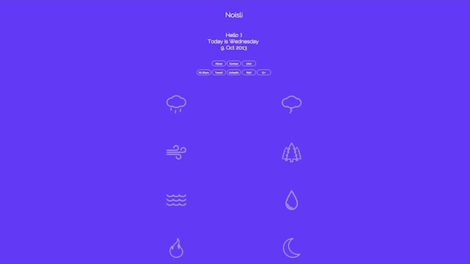 自分好みのノイズを調合できるサイト『Noisli』のおかげで仕事がはかどる