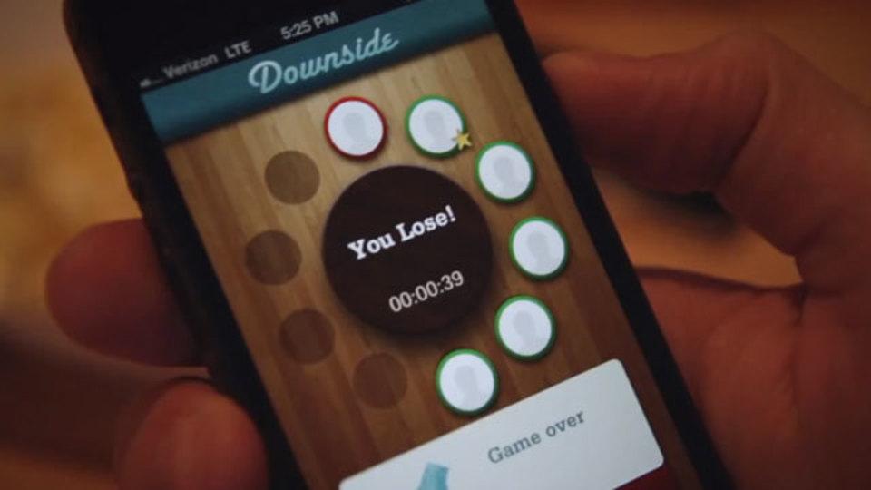 スマホの画面を見たら負け、なゲームアプリ『Downside』