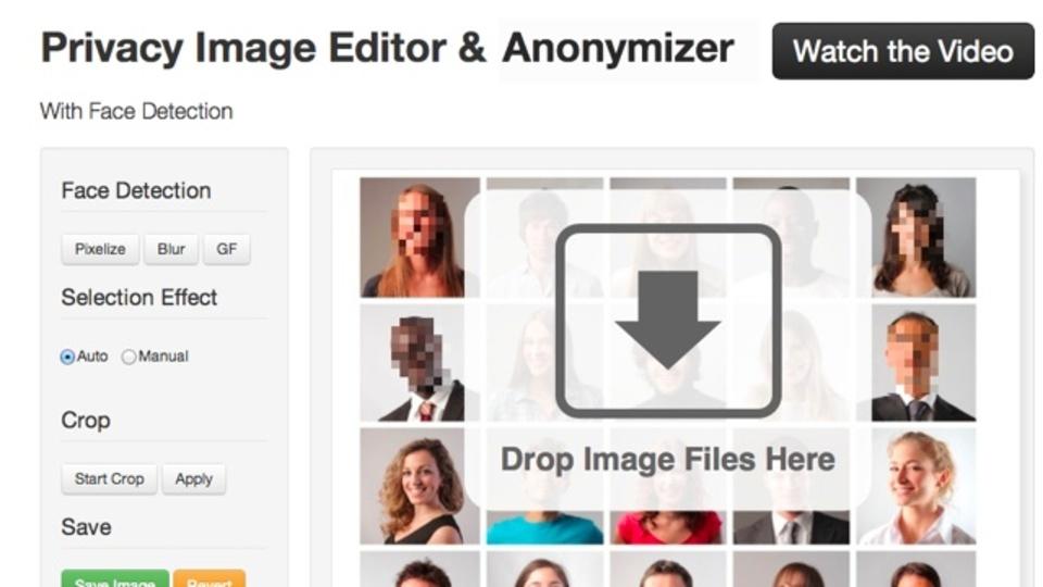 顔認識で自動的にモザイクをかけられる「Privacy Image Editor」