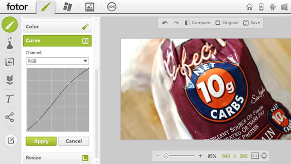 無料オンライン画像編集ツールの最高峰『Fotor』はなんとHDR画像の作成も可能!
