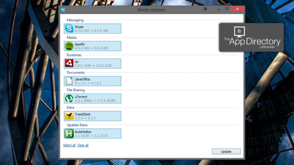 Windows向け自動アップデート管理ソフト『Ninite Updater』に更新を任せればラク