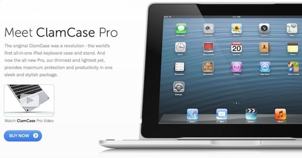 iPadがMacBook Airに変身?!「ClamCase Pro」レビュー(前編)