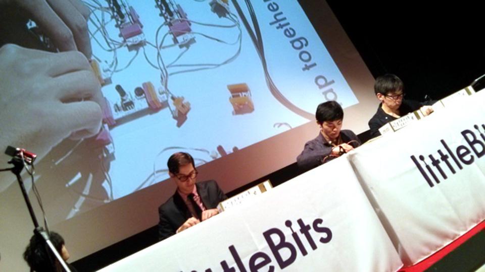 (動画あり)はじめまして、ブロック遊びみたいなシンセサイザー:littleBits × KORG #mft2013