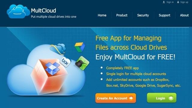 複数のクラウドストレージサービスを一括管理できる『MultCloud』