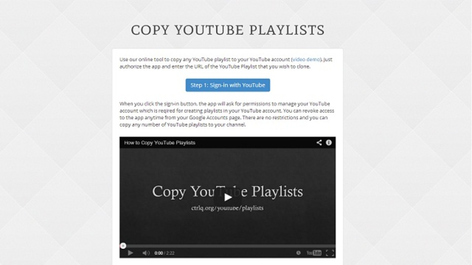 YouTubeで見つけたプレイリストを自分のアカウントに取り込んで保存する方法