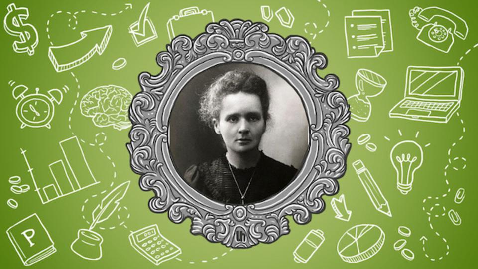 詳細な日記をつけ、過去の業績は忘れる:女性初のノーベル賞受賞者マリ・キュリーに学ぶ仕事術