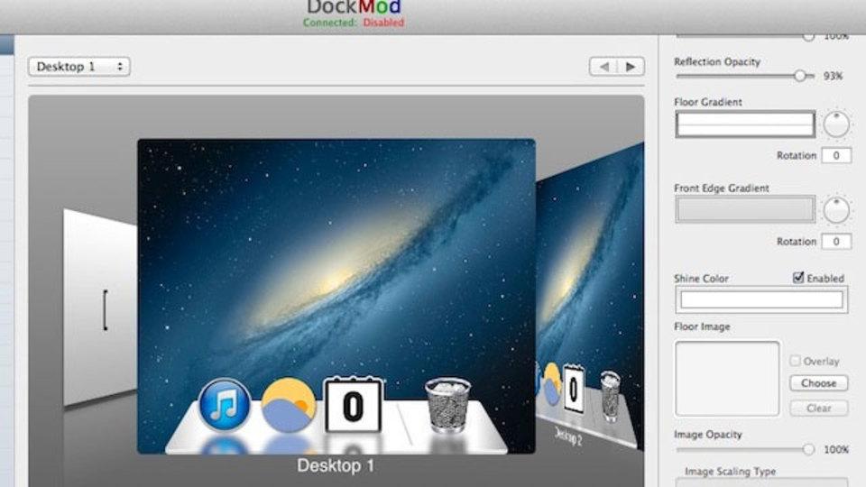 Mavericksのドックを勝手にいじれるアプリ『DockMod』