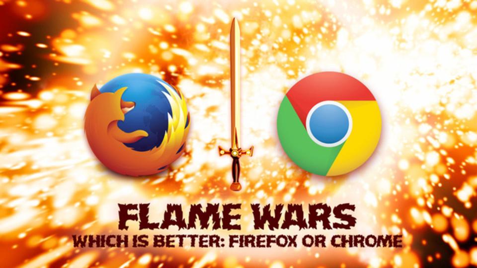 ユーザー激論! Chrome対Firefox、より優れたブラウザはどっち?