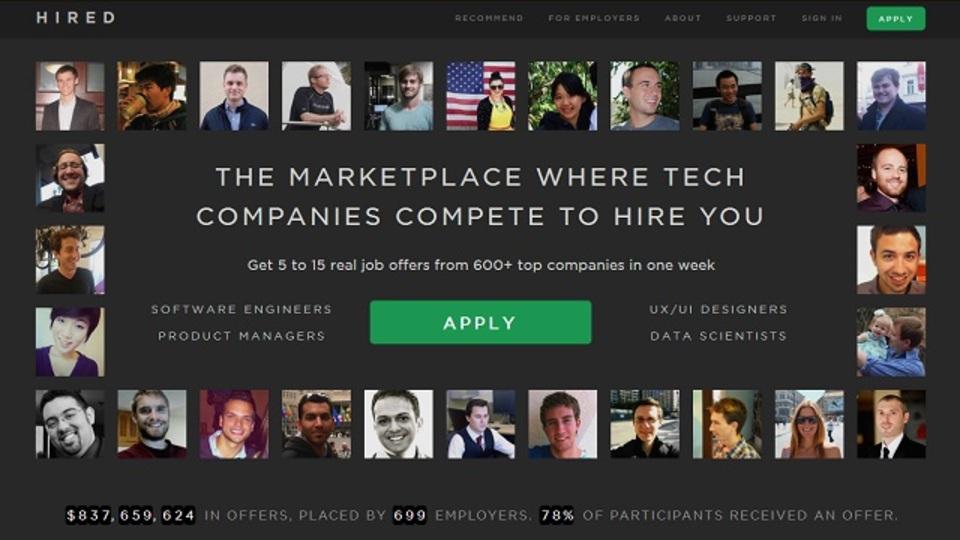やぁ、俺は君のサイトをハックしたよ:異色の技術者オークションサイト『Hired.com』誕生秘話