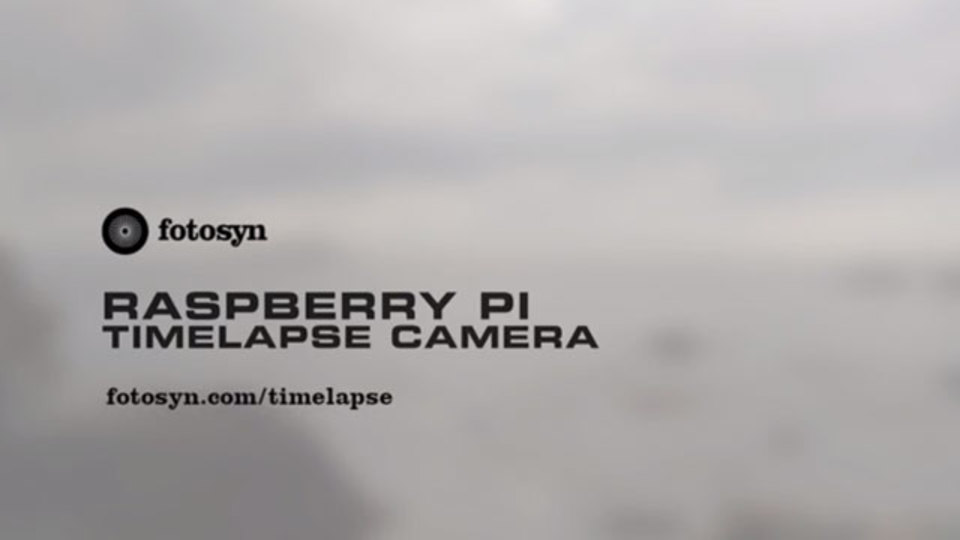 Raspberry Piとコーヒー豆の缶で低速度撮影システムをDIYする