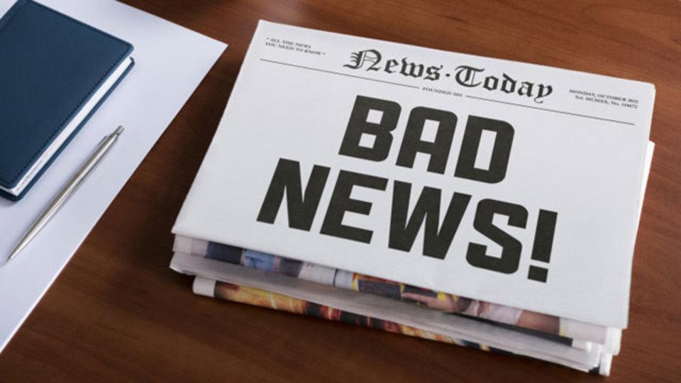 イヤな知らせに気分を悪くしないための心理学