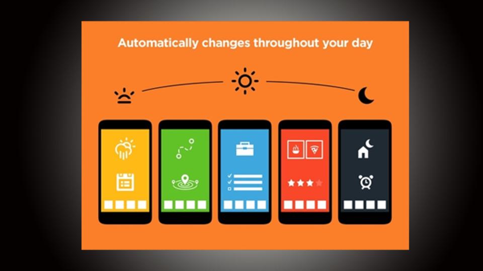 自宅や仕事中などシーンでホーム画面を切り替えられるアプリ『Aviate』