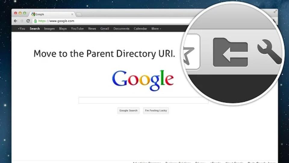 URLのひとつ上の階層にジャンプできるChrome拡張機能「move2parent」