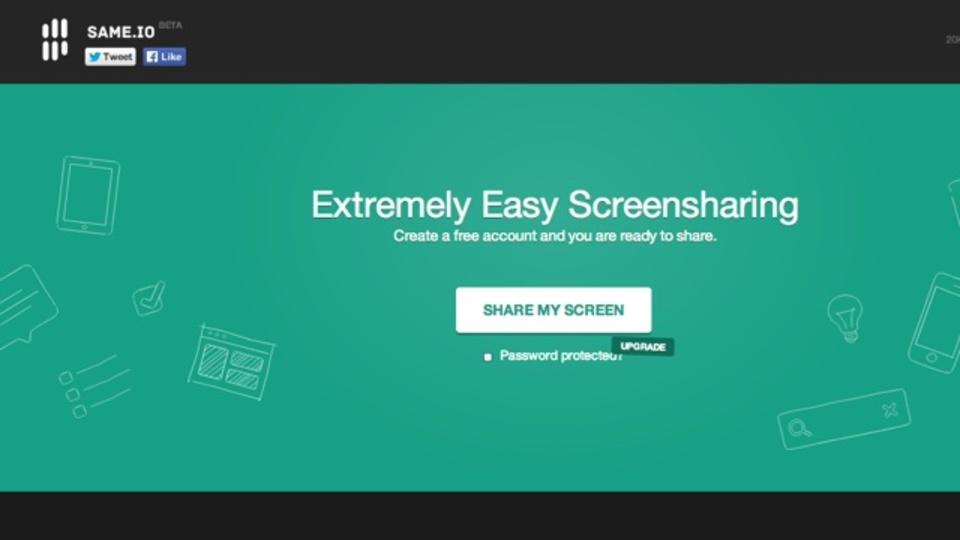 ChromeだけあればOK! PCの画面共有が簡単に行えるサイト「SAME.IO」