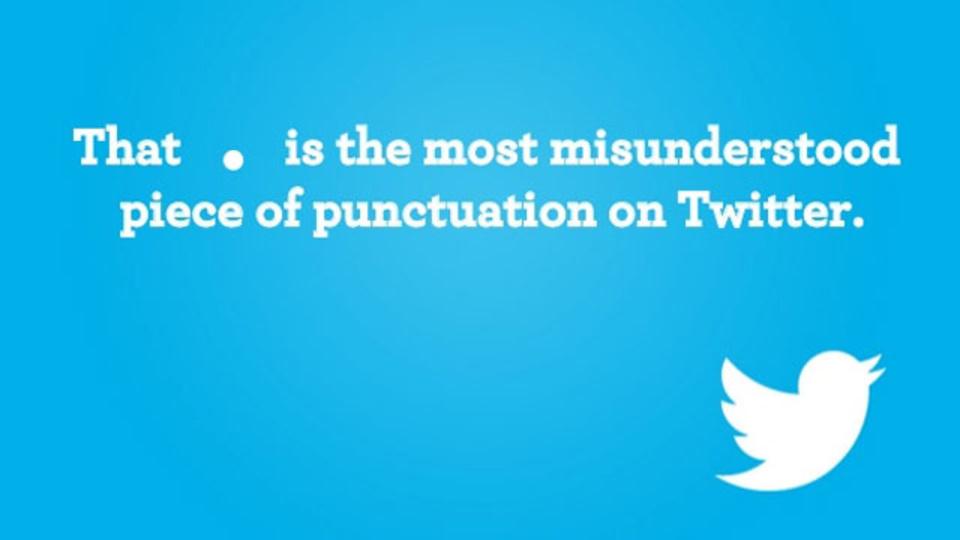 Twitterでフォロワー全員に正しくツイートを届けるためには「@」で始めてはいけない