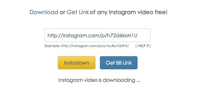 Instagramの動画をmp4形式でダウンロードできる「InstaDown」 | ライフ