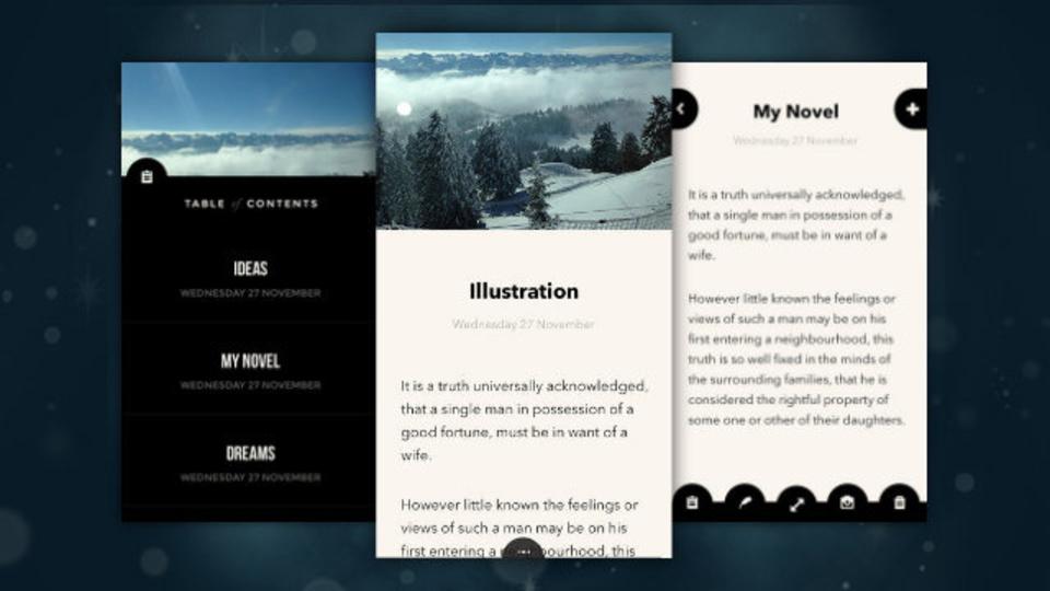 シンプルで機能的なメモアプリを探しているなら『Pad&Quill Notes』(iOS向け)