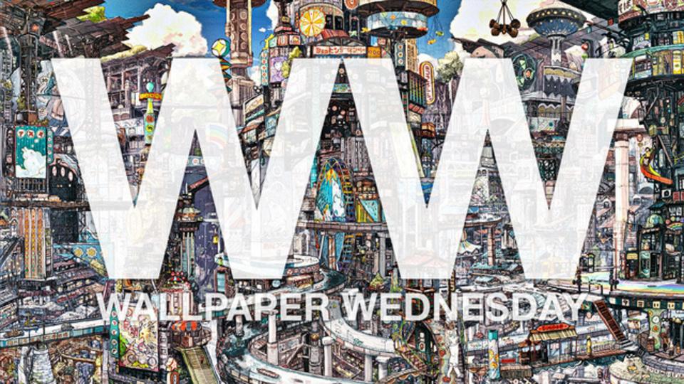 今週の壁紙堂vol.126「都市も、1つの風景です」