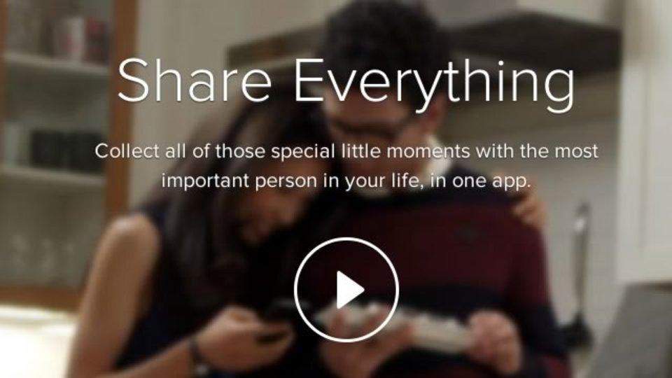 恋人と2人きりの空間が楽しめるリア充専用アプリ『Couple』