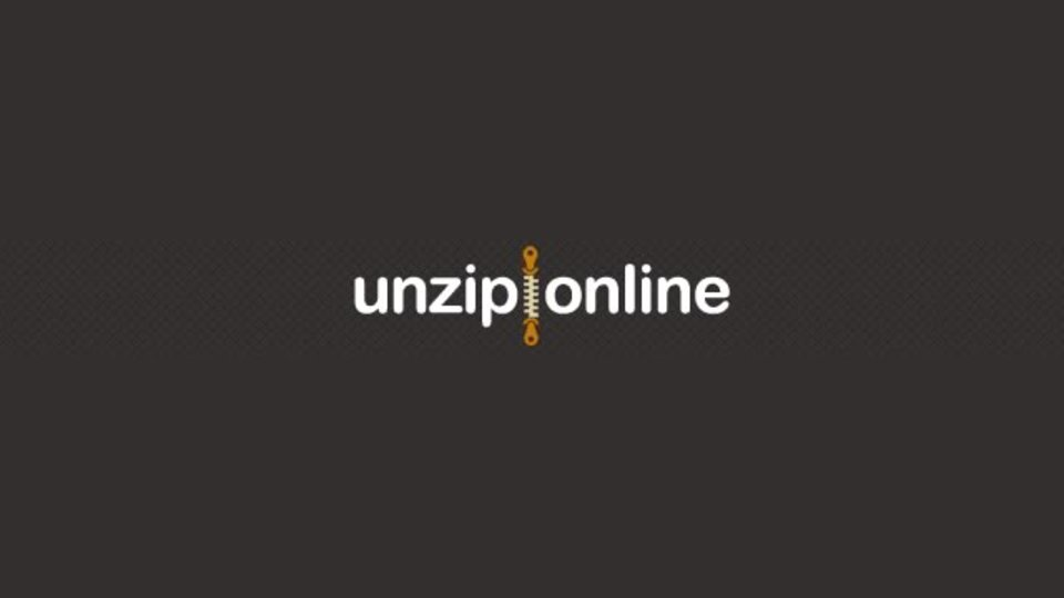 zip、gzip、tarなどの圧縮ファイルをオンラインで解凍できるサイト「Unzip Online」