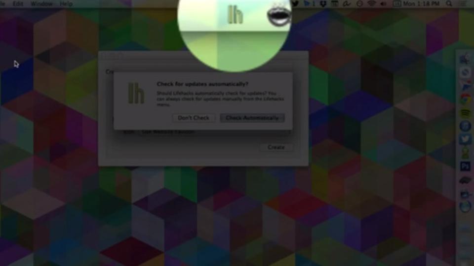 ウェブサイトをMacのメニューバーアプリにできる『Fluid』(手順を動画で)