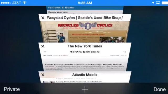 iPhone/iPadのSafariで開いたすべてのタブを一発で閉じる手順