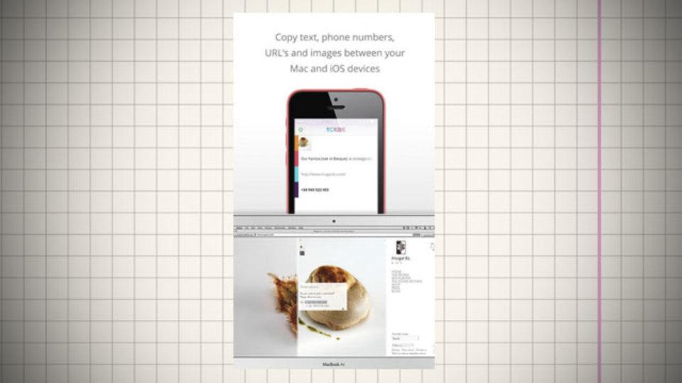 デスクトップPCでコピーしてiPhoneにペーストできるアプリ『Scribe』
