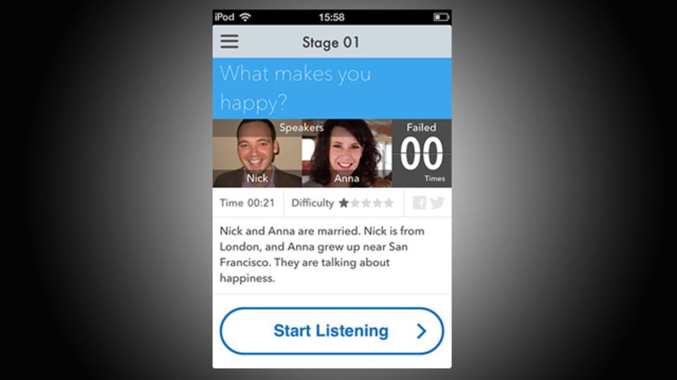 英語リスニングアプリ『ListenUp』は訛りがあるアクセントも攻略できる