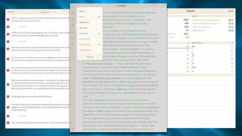 iPadで書き物をするなら、高度な予測変換を搭載したテキストエディタ『Phraseology』