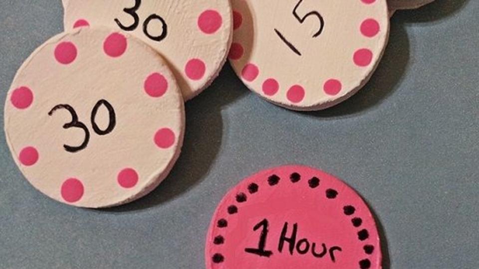 子どもがすすんでお手伝いをするようになる「ゲーム時間コイン」制度