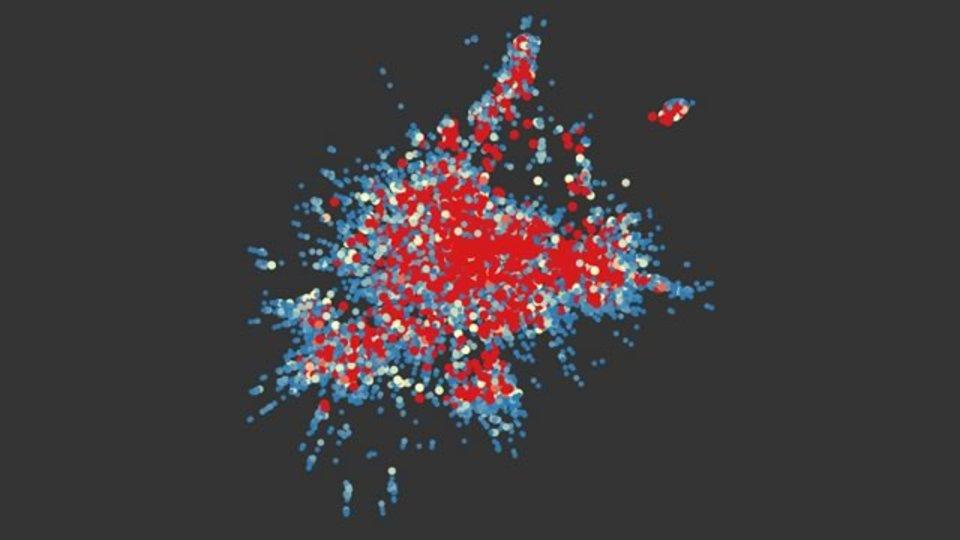 redditで嗜好がマッチするユーザーのつながりを可視化したサイト「redditviz」
