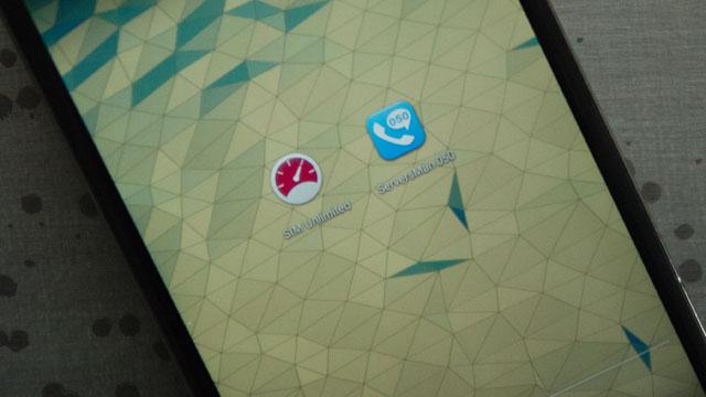 ふたつのアプリ