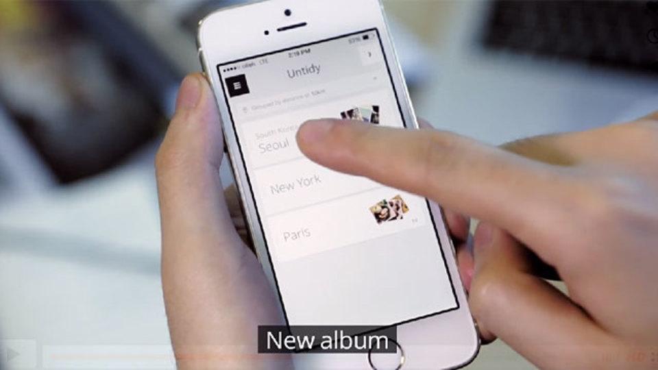 スマホの写真を自動でグループ分けしてアルバムにまとめる『Tidy』