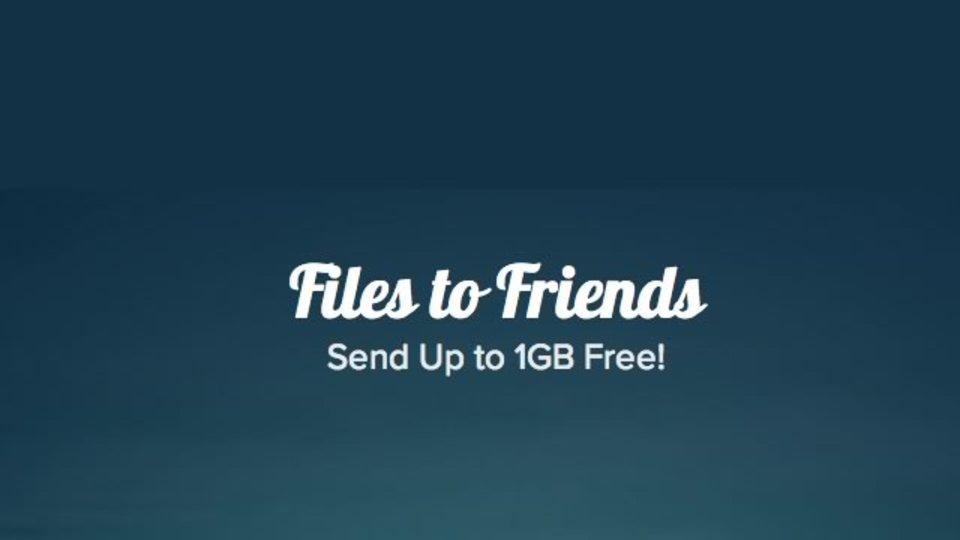 会員登録なし! 最大1GBまでのファイルをメールで共有できる「Files to Friends」