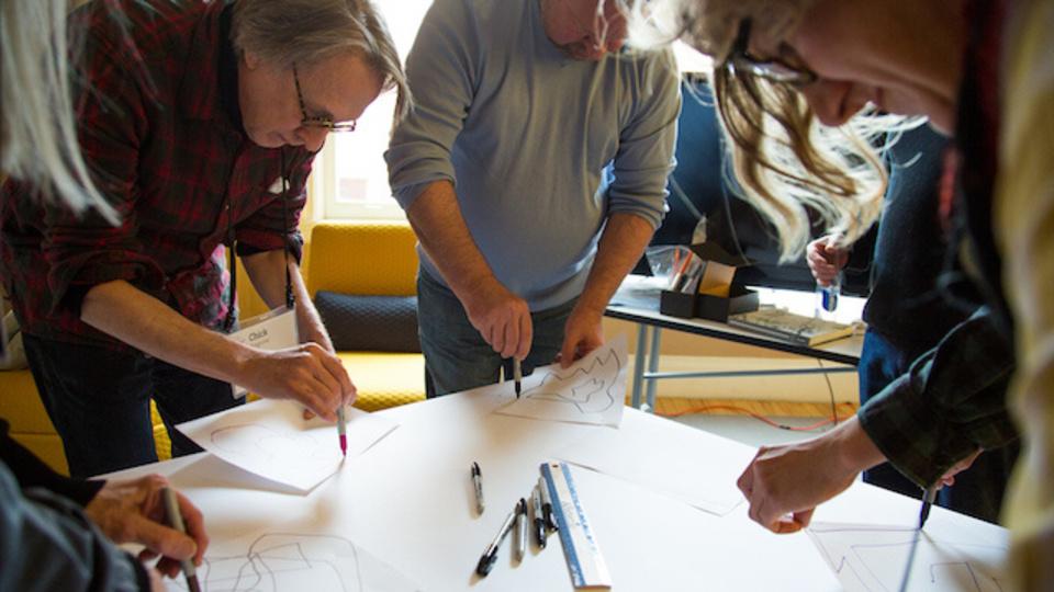 創造力の限界に達したら、アイデアを図に描くといい