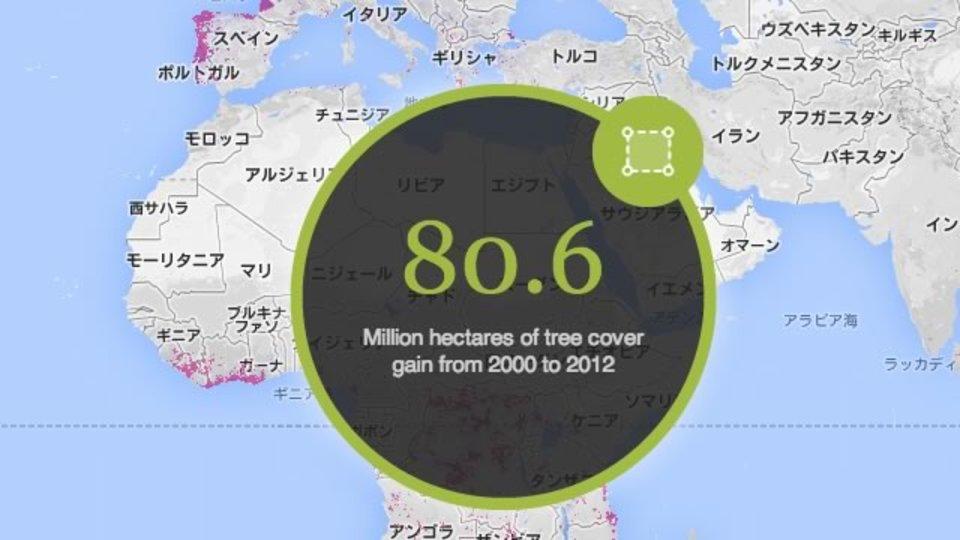 世界中の森林伐採状況がわかる、そわそわするサイト「Global Forest Watch」