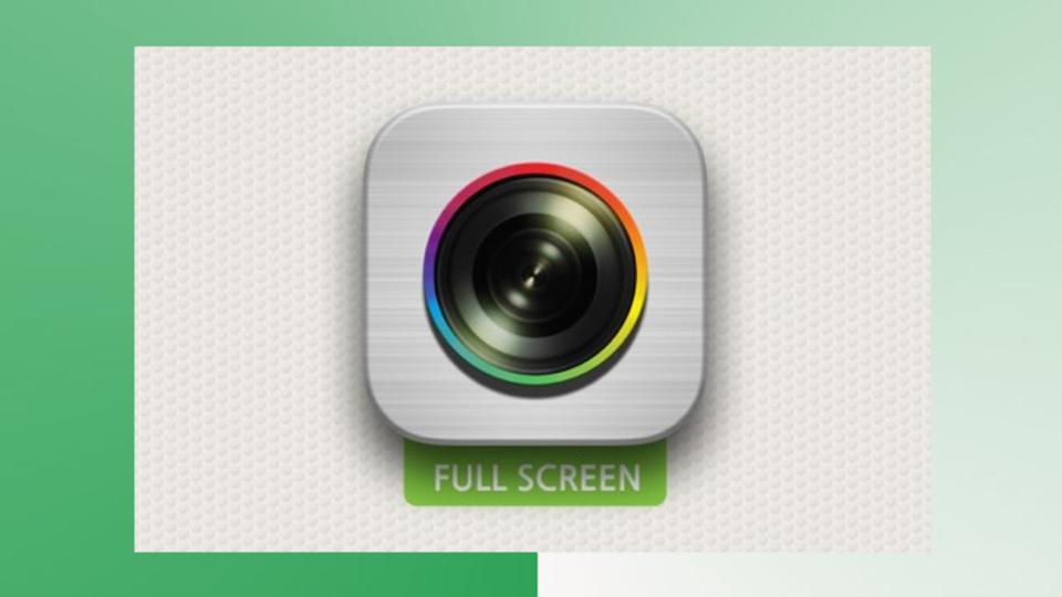 標準カメラを超える2448x4345ピクセル。『全画面カメラ』でスクリーンいっぱいの写真を