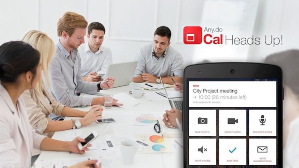会議をスマートに進めるための新機能:カレンダーアプリ『Cal』に「HeadsUp」搭載