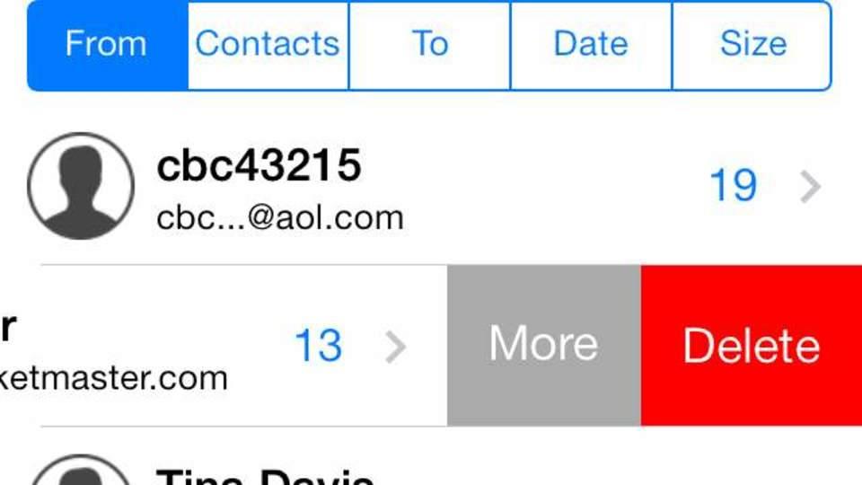 標準メールの見た目は捨てがたい。でも、すっきり整理したい人のiOSアプリ『MailTamer』