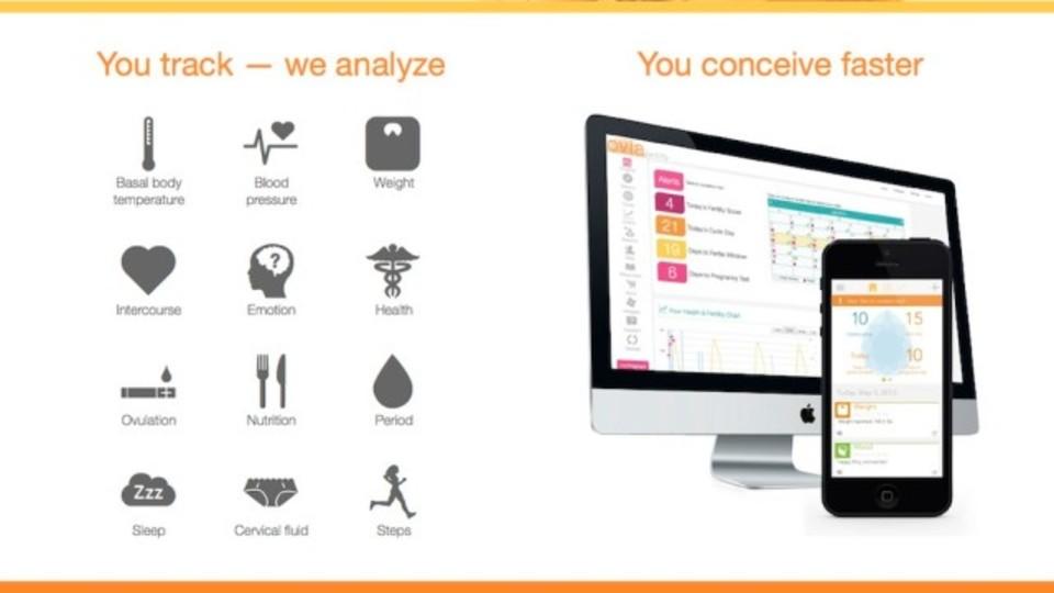 子どもがほしいふたりへ:健康データをすべて記録できる子作り支援アプリ『Ovia Fertility』