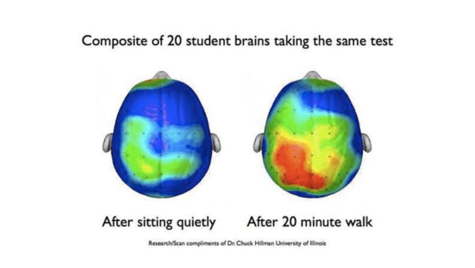 試験で成功する秘訣は「20分の運動」にあった