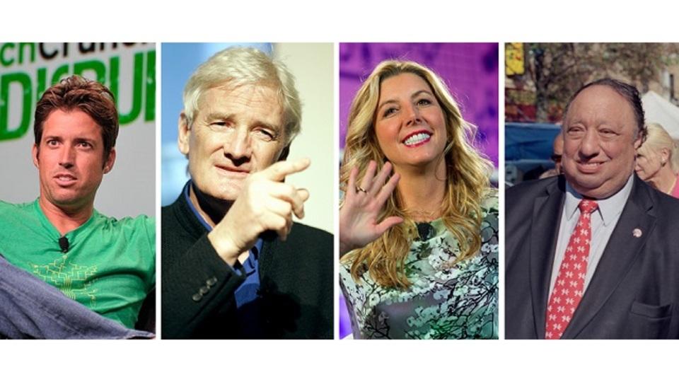 巨万の富を築いた4人の起業家が、失敗から学んだ教訓とは?