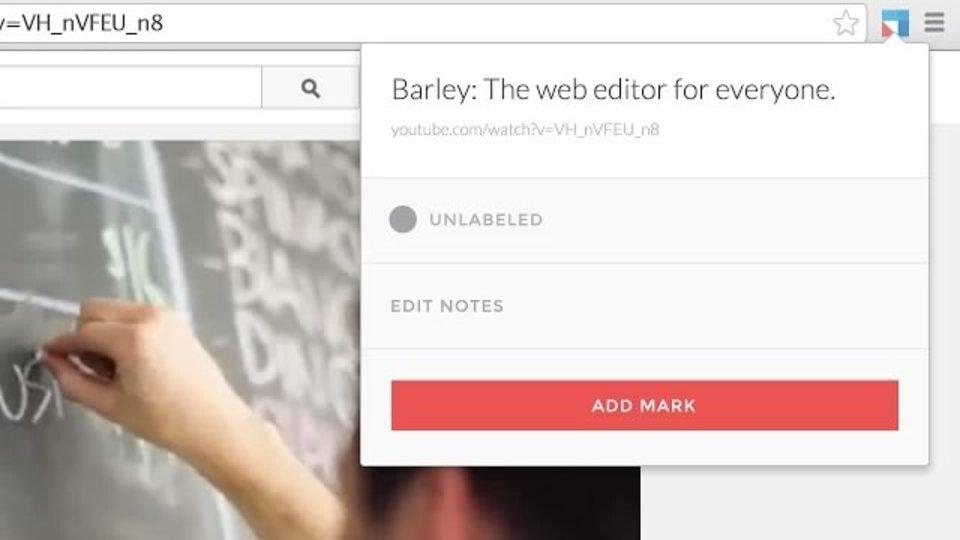 ワンクリックで見ているウェブページをストック/検索できる拡張機能「Unmark」
