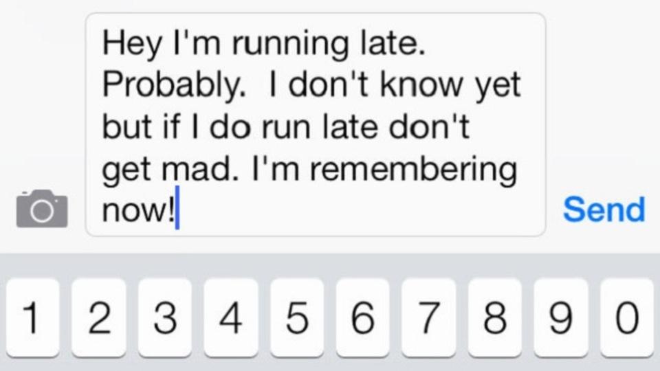 残業の連絡を忘れてパートナーに怒られたことがある人はメッセージ送信を自動化してみては?