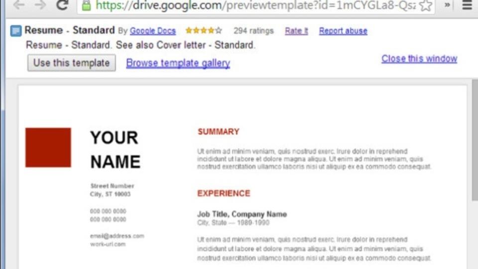 見栄えが良くて無料 google docsのテンプレートギャラリーがかなり