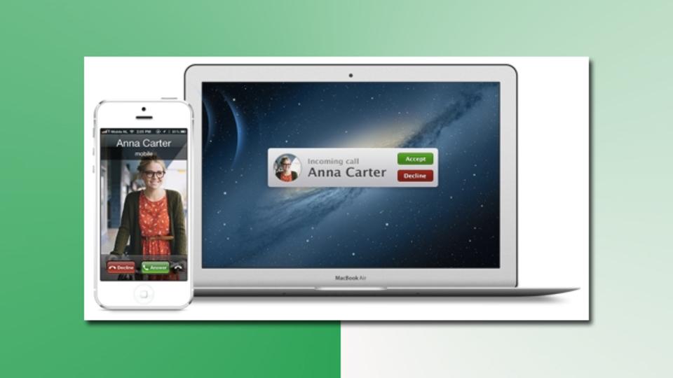 Apple製品が連動すると、やたらウレシイあなたへ:Macをスマホの子機にできるアプリ
