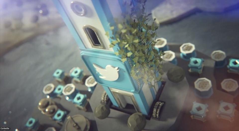 HootSuite謹製:各社SNSの陣取り合戦をパロディしたムービー